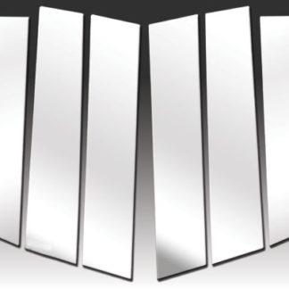 Mirror Finish Stainless Steel Pillar Post 6-Pc 2011 - 2016 Honda Odyssey