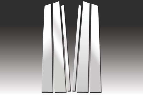 Stainless Steel Pillar Post Trim 4PC For Honda Accord 4 Door 2013-2015