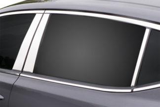 Mirror Finish Stainless Steel Pillar Post 6-Pc 2011 - 2015 Kia Optima