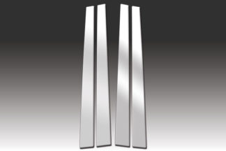 Mirror Finish Stainless Steel Pillar Post 4-Pc 1995 - 2000 Lexus LS-Series