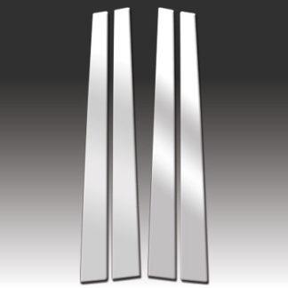 Mirror Finish Stainless Steel Pillar Post 4-Pc 1995 - 2000 Lexus LS-Series