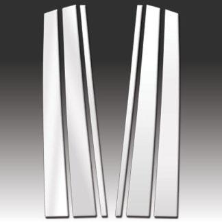 Mirror Finish Stainless Steel Pillar Post 6-Pc (97-07 LX-Series) 2004 - 2007 Lexus LX-Series