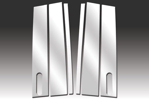 LINCOLN LS STAINLESS STEEL PILLAR POSTS
