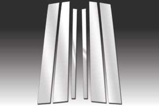 Mirror Finish Stainless Steel Pillar Post 6-Pc 1992 - 2011 Mercury Grand-Marquis