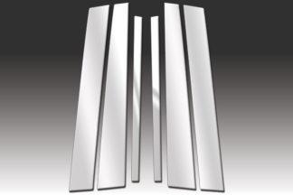 Mirror Finish Stainless Steel Pillar Post 6-Pc 1992 – 2011 Mercury Grand-Marquis