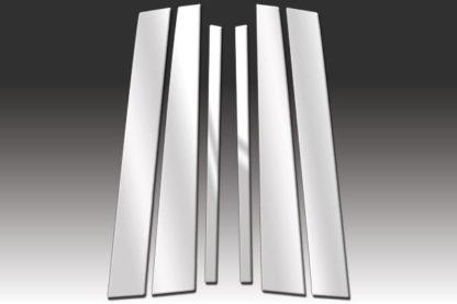 Mirror Finish Stainless Steel Pillar Post 6-Pc 1992 - 2011 Mercury Grand-Marquis