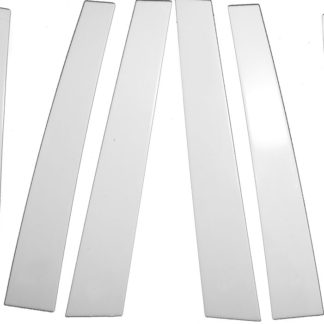 Mirror Finish Stainless Steel Pillar Post 6-Pc 2002 - 2007 Saturn Vue