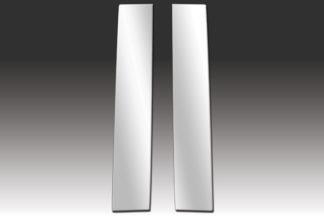 Mirror Finish Stainless Steel Pillar Post 2-Pc 2005 – 2010 Scion tC