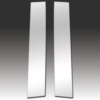 Mirror Finish Stainless Steel Pillar Post 2-Pc 2011 - 2016 Scion tC