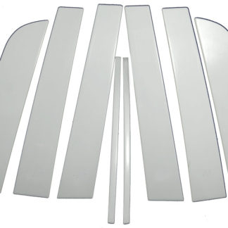 Mirror Finish Stainless Steel Pillar Post 8-Pc 2008 - 2015 Scion xB