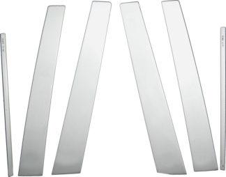 Mirror Finish Stainless Steel Pillar Post 6-Pc 2006 - 2012 Toyota Rav4