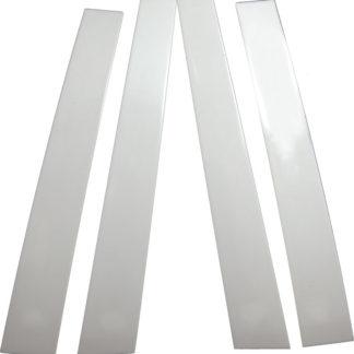 Mirror Finish Stainless Steel Pillar Post 4-Pc 2003 - 2006 Toyota Tundra-Double-Cab