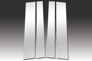 Mirror Finish Stainless Steel Pillar Post 4-Pc 2007 – 2016 Toyota Tundra-Double-Cab