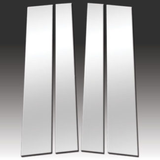 Mirror Finish Stainless Steel Pillar Post 4-Pc 2007 - 2016 Toyota Tundra-Double-Cab