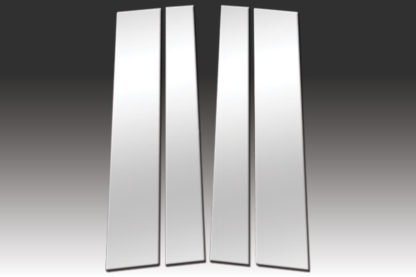 Mirror Finish Stainless Steel Pillar Post 4-Pc 2007 - 2016 Toyota Tundra-Double-Cab