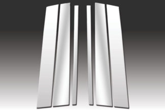 Mirror Finish Stainless Steel Pillar Post 6-Pc 2003 – 2015 Volvo XC90