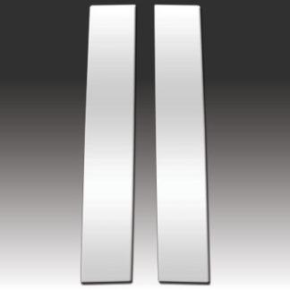 Mirror Finish Stainless Steel Pillar Post 2-Pc 1998 - 2010 Volkswagen New-Beetle