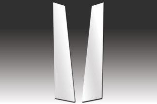Mirror Finish Stainless Steel Pillar Post 2-Pc 2006 - 2009 Volkswagen GTI/Golf-2-Door