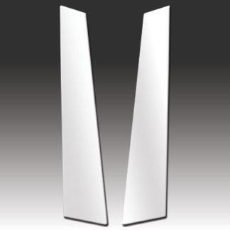 Mirror Finish Stainless Steel Pillar Post 2-Pc 2010 - 2014 Volkswagen GTI-2-Door