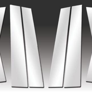 Mirror Finish Stainless Steel Pillar Post 6-Pc 2011 – 2016 Volkswagen Touareg