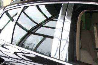 Mirror Finish Stainless Steel Pillar Post 6-Pc 2004 - 2010 Volkswagen Touareg