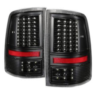 ALT-JH-DR09-LED-G2-BKDodge Ram 1500 09-18 / Ram 2500/3500 10-18 LED Tail Lights - Incandescent Model only ( Not Compatible With LED Model ) - Black