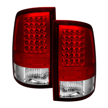 ALT-JH-DR09-LED-RCDodge Ram 1500 09-18 / Ram 2500/3500 10-18 LED Tail Lights - Incandescent Model only ( Not Compatible With LED Model ) - Red Clear