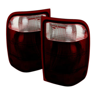 ALT-JH-FR01-OE-RSMFord Ranger 2001-2011 (excluding 2005 STX Models) OEM Style Tail Lights - Red Smoked