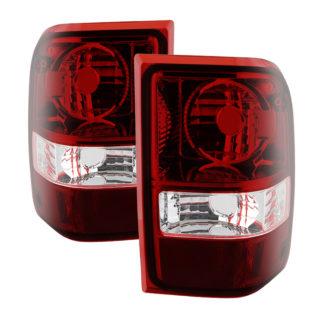 ALT-JH-FR06-OE-RSMFord Ranger 2001-2011 (06-07 excluding STX Models ) OEM Style Tail Lights -Dark Red