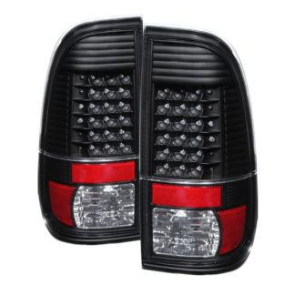 ALT-JH-FS08-LED-BKFord Super Duty F-250/ F-350/ F-450 08-16 LED Tail Lights - Black