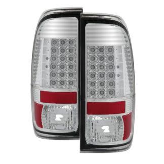 ALT-JH-FS08-LED-CFord Super Duty F-250/ F-350/ F-450 08-16 LED Tail Lights - Chrome