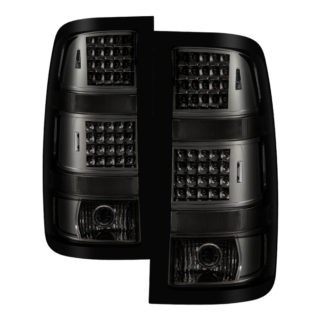 ALT-JH-GS07-LED-SMGMC Sierra 1500 07-13  2500HD/3500HD 07-14 (does not fit 3500HD Dually Models) LED Tail Lights - Smoked