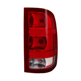 ALT-JH-GS07-OE-R( OE ) GMC Sierra 1500 07-13 2500HD/3500HD 07-14 (does not fit 3500HD Dually Models) Driver Side Tail lights -OEM Right