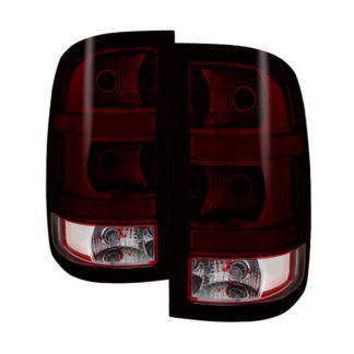 ALT-JH-GS07-OE-RSMGMC Sierra 1500 07-13  2500HD/3500HD 07-14 (does not fit 3500HD Dually Models) OEM Style Tail Light - Red Smoked