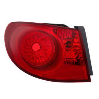 ALT-JH-HYEL07-OE-L( OE ) Hyundai Elantra 07-10 Drive Side Tail Lights Outer - OEM Left
