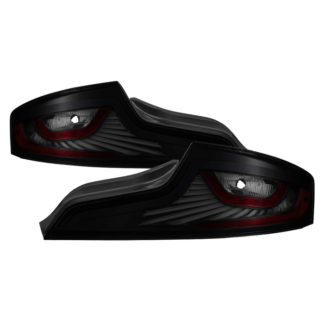ALT-JH-IG3503-LEDLB-BSMInfiniti G35 Coupe 03-05 LED Light Tube Style Tail Lights - Black Smoked