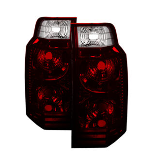 ALT-JH-JCOM06-OE-RSMJeep Commander 06-10 OEM Style Tail Lights -Red Smoked