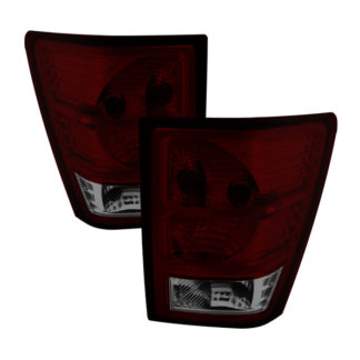 ALT-JH-JGC07-OE-RSMJeep Grand Cherokee 07-10 OEM Style Tail Lights -Red Smoked