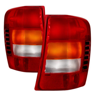 ALT-JH-JGC99-OE-RC( OE ) Jeep Grand Cherokee 1999-2002 / Grand Cherokee 2003 (Built Before 11/02 Production Date) Tail Lights - OEM