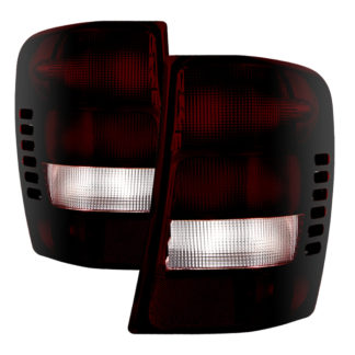 ALT-JH-JGC99-OE-RSMJeep Grand Cherokee 1999-2002 / Grand Cherokee 2003 (Built Before 11/02 Production Date) OEM Style Tail Lights - Red Smoked