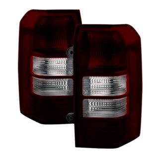 ALT-JH-JPA08-OE-RSMJeep Patriot  08-13 OEM Tail Lights -Red Smoked