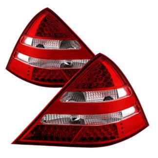 ALT-JH-MBR17098-LED-RCMercedes R170 SLK 98-04 LED Tail Lights ( R171 AMG Look ) - Red Clear