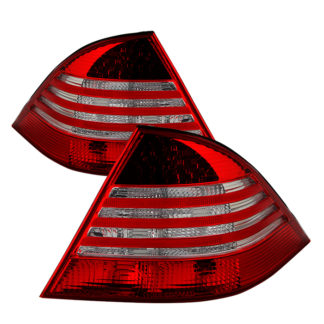ALT-JH-MBW220-LED-RCMercedes Benz W220 S-Class 00-05 LED Tail Lights - Red Clear