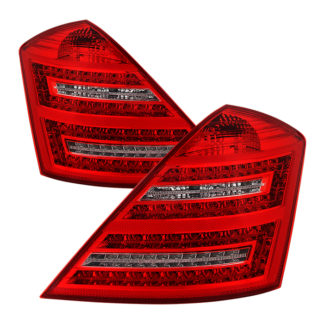 ALT-JH-MBW221-LED-RCMercedes Benz W221 S-Class 07-09 LED Tail Lights - Red Clear