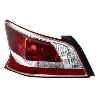 ALT-JH-NA13-4D-OE-L( OE ) Nissan Altima 13-15 Driver Side Tail Lights - OEM Left