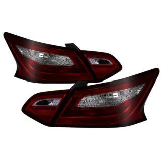 ALT-JH-NA16-4D-RSM( OE ) Nissan Altima 16-18 4Dr OE Tail Light - Red Smoke