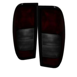 ALT-JH-NF00-OE-RSMNissan Frontier 00-04 OEM Style Tail Lights - Red Smoked