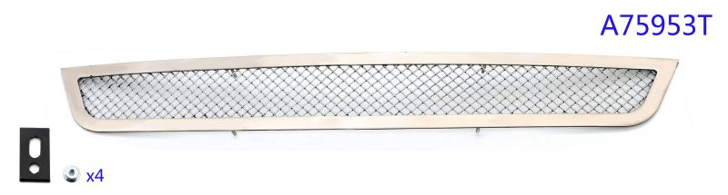 Mesh Grille 2013-2014 Cadillac ATS  Lower Bumper Chrome