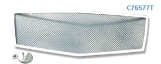 Mesh Grille 2008-2014 Cadillac CTS Coupe Main Upper Chrome (Not For CTS-V Coupe