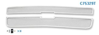 Mesh Grille 2001-2006 Chevy Avalanche Main Upper Chrome With Body Cladding
